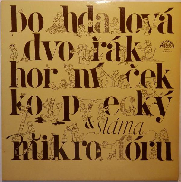 Bohdalová, Dvořák, Horníček, Kopecký A Sláma V Mikrofóru
