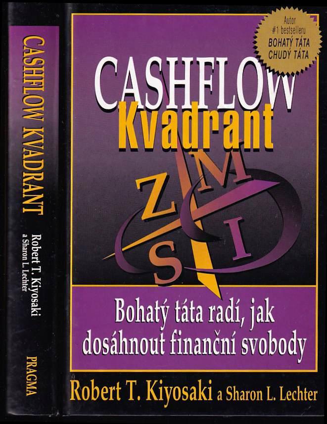 Robert T Kiyosaki: Cashflow kvadrant - zaměstnanec, samostatně výdělečně činný, majitel podniku, investor -  který kvadrant je pro vás nejlepší?