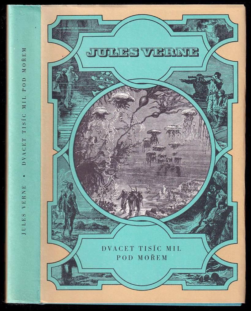 Jules Verne: Dvacet tisíc mil pod mořem - pro čtenáře od 9 let