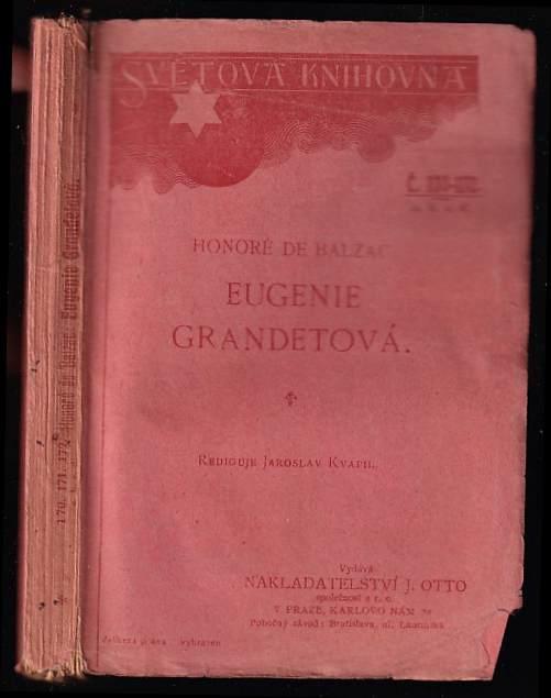 Honoré de Balzac: Eugenie Grandetová