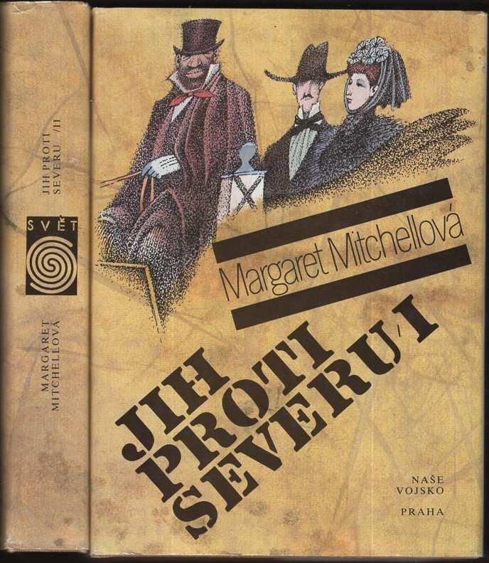 Jih proti Severu - Co odvál vítr - 2 svazky (Margaret Mitchell, 1991)
