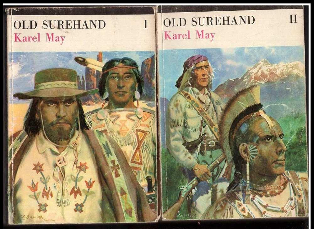 Karl May: Old Surehand. 1+2 Komplet