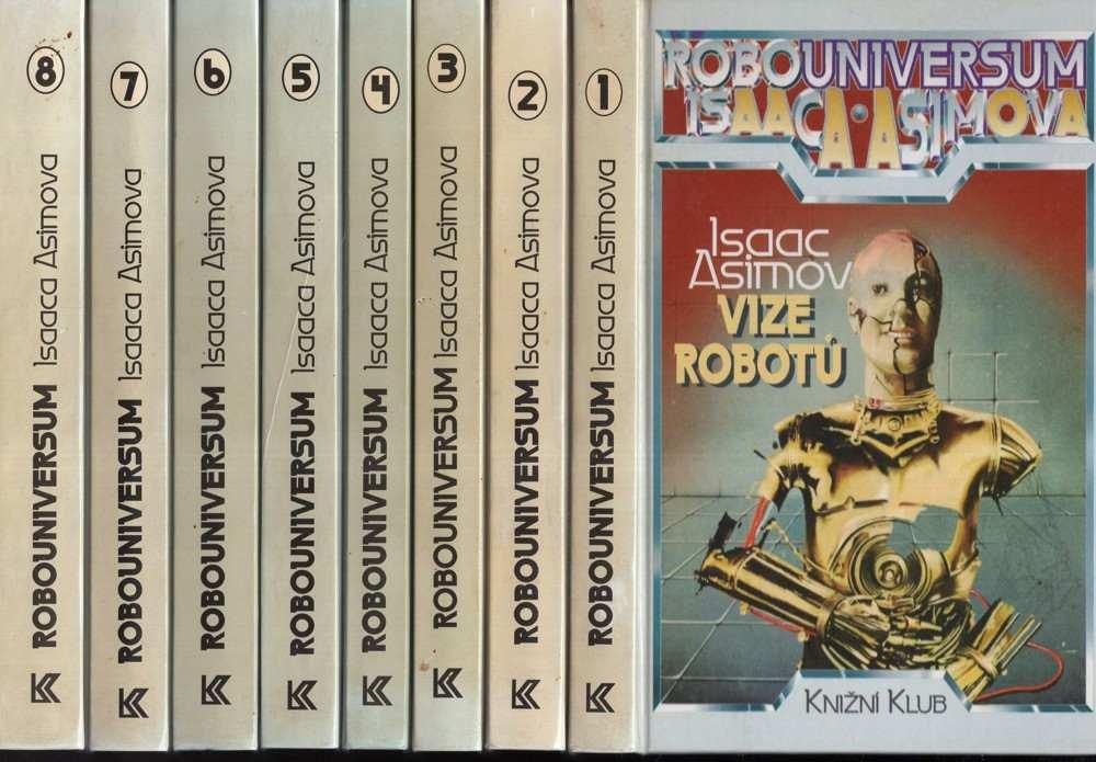 Isaac Asimov: Robouniversum (8 svazků)