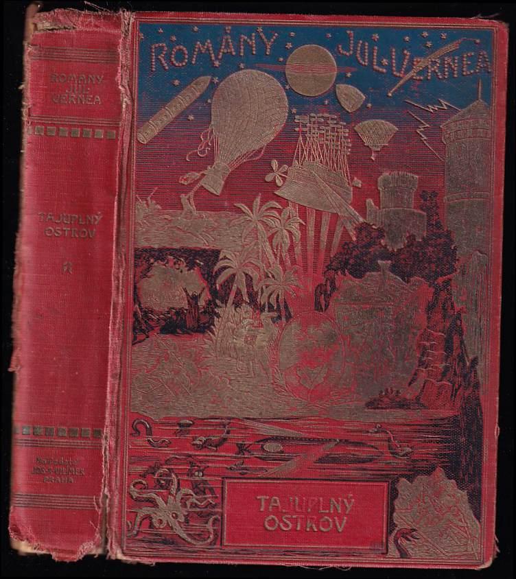Jules Verne: Tajuplný ostrov : L'ile mysterieuse