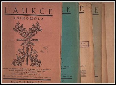 6x Aukce Knihomola