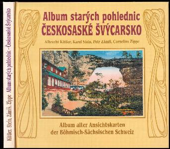 Album starých pohlednic - Českosaské Švýcarsko - Album alter Ansichtskarten der Böhmisch-Sächsischen Schweiz