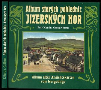 Album starých pohlednic Jizerských hor - Album alter Ansichtskarten vom Isergebirge