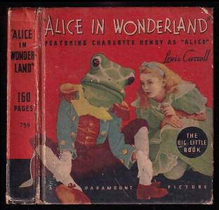 Alice in Wonderland - Book The Little Big Book -  A Paramount Picture with Charlotte Henry