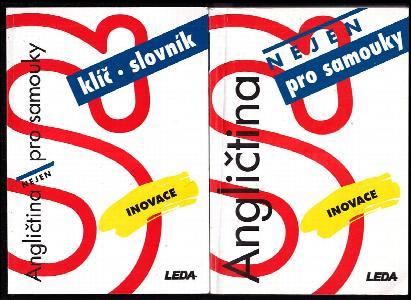 Angličtina nejen pro samouky + Klíč a slovník + 2 CD
