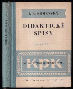 Didaktické spisy - (Výbor)