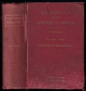 Die Therapie an den Wiener Kliniken. Ein Verzeichnis der an denselben gebräuchlichen Heilmethoden und Recepte