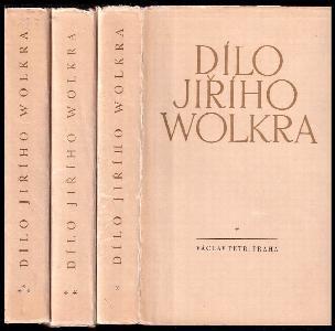 Dílo Jiřího Wolkra 1 - 3 - KOMPLET