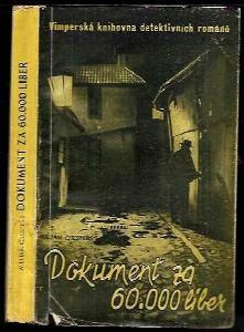 Dokument za 60000 liber : detektivní román
