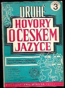 Druhé hovory o českém jazyce