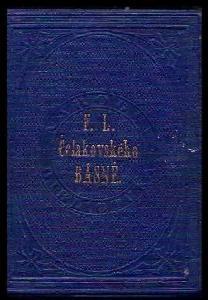 Fr. Lad. Čelakovského Sebrané spisy, Spisův básnických knihy šestery