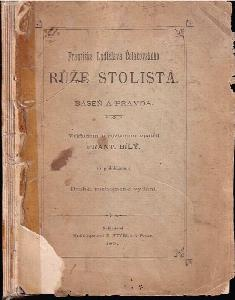 Františka Ladislava Čelakovského Růže stolistá : báseň a pravda