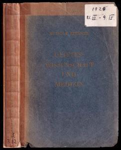 Geisteswissenschaft und Medizin - Zwanzig Vorträge, gehalten vor Ärzten und Medizinstudierenden in Dornach vom 21. März bis 9. April 1920