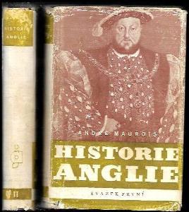 Historie Anglie - Histoire d'Angleterre. Svazek 1 a 2