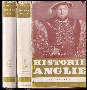 Historie Anglie - Histoire d'Angleterre. Svazek 1 a 2 - KOMPLET