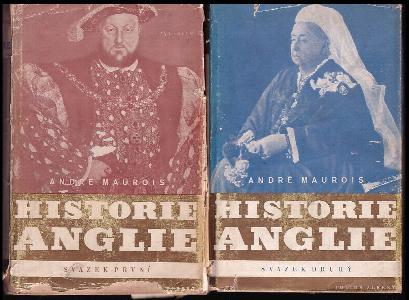 Historie Anglie, sv. I. + II