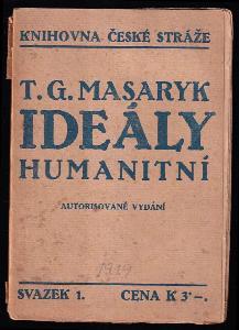 Ideály humanitní - několik kapitol