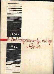 II. československá reálka v Brně