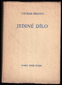 Jediné dílo : [essey z roku 1904]