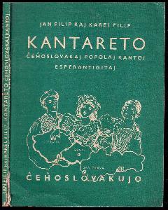 Kantareto ĉeĥoslovakaj popolaj kantoj esperantigitaj