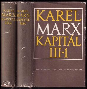 Kapitál : kritika politické ekonomie III-1+2