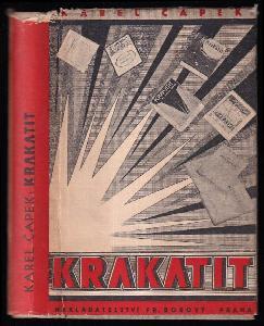 Krakatit - román