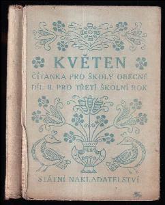 Květen - Čítanka pro školy obecné Díl 2, pro třetí školní rok.