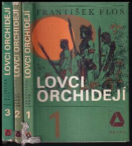 Lovci orchidejí, díl 1-3 Komplet