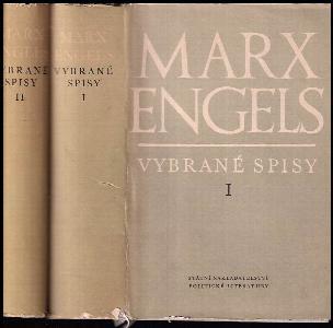 Marx Engels - Vybrané spisy. Sv. 1 a 2