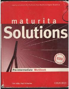 Maturita Solutions : pre-intermediate workbook