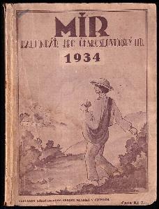 Mír - kalendář pro český lid na rok páně 1934 - ročník XXXVI.