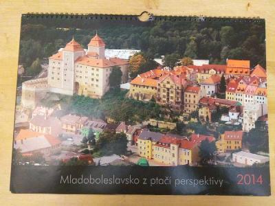 Mladoboleslavsko z ptačí perspektivy - Kalendář r. 2014