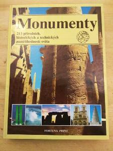 Monumenty - 213 přírodních, historických a technických pamětihodností světa
