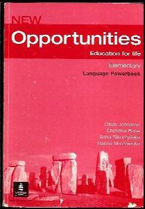 New Opportunities : education for life : elementary language powerbook