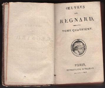 OEuvres de Regnard - Tome quatiéme