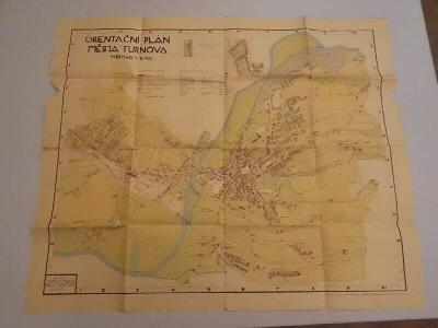 Orientační plán města Turnova