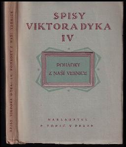 Pohádky z naší vesnice : 1904-1910