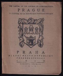 Praha, hlavní město republiky československé : Osm litografií