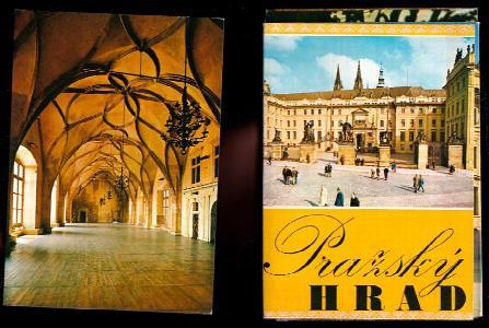 Pražský Hrad - soubor 12 pohlednic