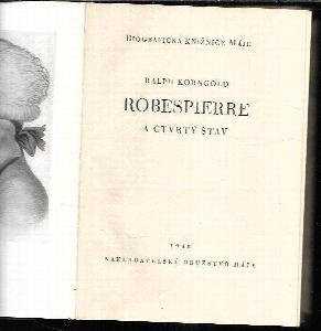 Robespierre a čtvrtý stav