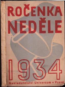 Ročenka týdeníku Neděle. 1934