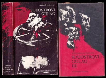 Souostroví Gulag - 1918-1956 - pokus o umělecké pojednání - díly I. a III. - chybí díl II.
