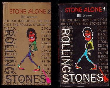 Stone Alone 1+2 Komplet - Rolling Stones