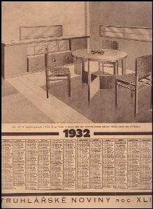 Truhlářské noviny 1932