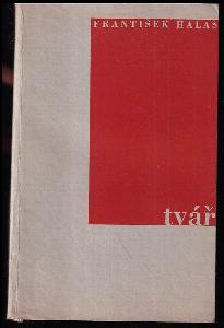 Tvář - poesie 1930-31 - OBÁLKA A FRONTISPICE JINDŘICH ŠTYRSKÝ