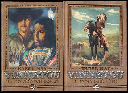 Vinnetou I - III - KOMPLET - Indiánské léto + Na válečné stezce + Do věčných lovišť